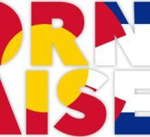 Colorado - Born & Raised. Sticker