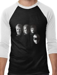 FAB GEAR - BLACK Men's Baseball ¾ T-Shirt