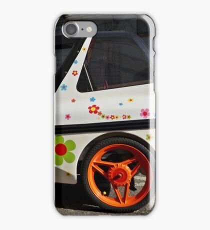 A Floral Car iPhone Case/Skin