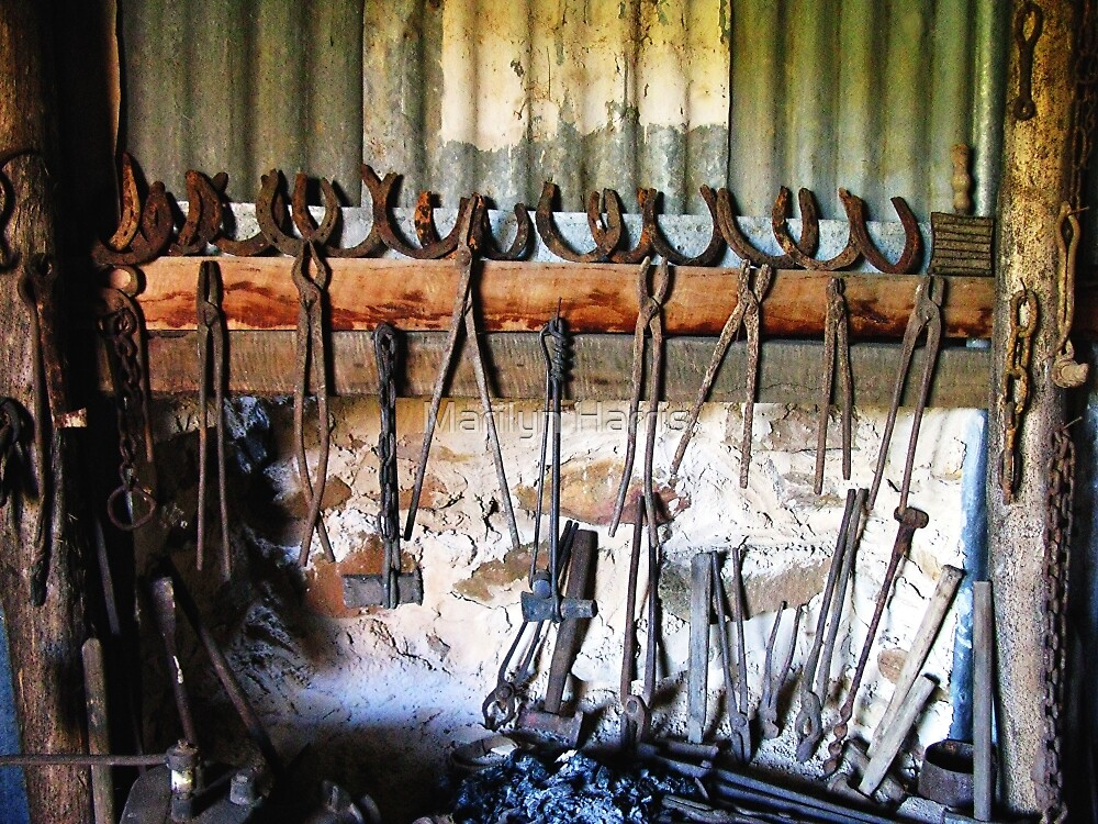 Blacksmith's - Hill End, New South Wales by Marilyn Harris