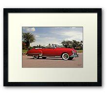 1949 Oldsmobile Convertible Framed Print