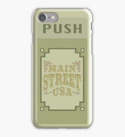 Main Street Trash Can Design iPhone Case/Skin