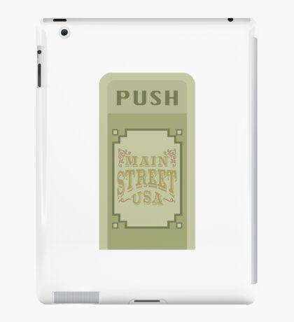 Main Street Trash Can Design iPad Case/Skin