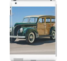 1938 Ford  81A 'Woody' Station Wagon iPad Case/Skin