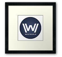 West World New Design Framed Print