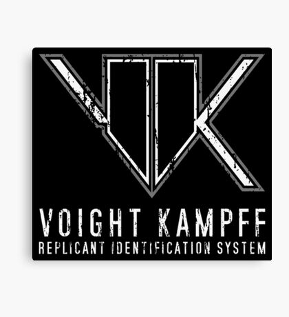 Blade Runner Voight Kampff Test Canvas Print