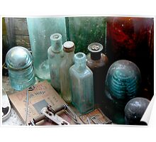 These old bottles Poster