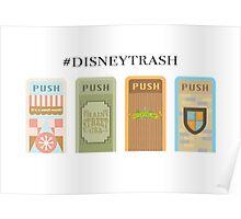 """""""#Trash"""" Trash Can Design Poster"""