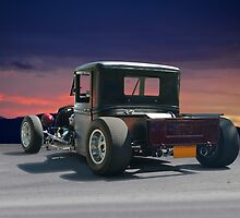 1934 Ford Rat Rod Pickup 'Infestation' by DaveKoontz