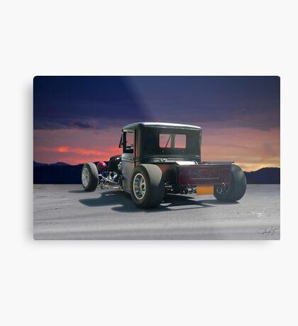 1934 Ford Rat Rod Pickup 'Infestation' Metal Print