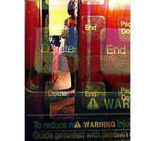 Delete-End Photographic Print