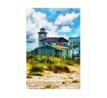 Simple Pleasures III ~ The Lighthouse Keeper Art Print