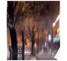Warm winter night Poster