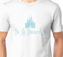 """As Dreamers Do"" Castle Design Unisex T-Shirt"