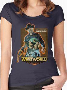 West World Premium Merchandise Women's Fitted Scoop T-Shirt