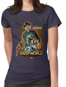 West World Premium Merchandise Womens Fitted T-Shirt