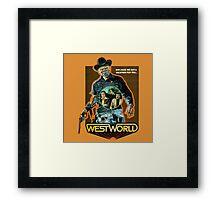 West World Premium Merchandise Framed Print