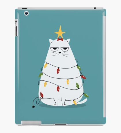 Grumpy Christmas Cat iPad Case/Skin