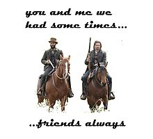 Cullen and Elam's friendship Photographic Print