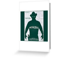 West World New Design Greeting Card