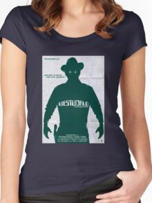 West World New Design Women's Fitted Scoop T-Shirt