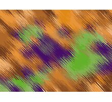 brown green and purple painting texture abstract Photographic Print