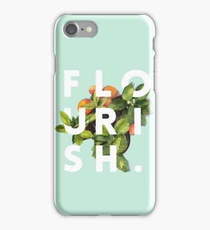Flourish #redbubble #home #designer #tech #lifestyle #fashion #style iPhone Case/Skin