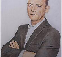 Billy Mitchell - Eastenders fan art by Marina Coffey