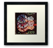 T. Bone Walker The Truth Blues lp Framed Print