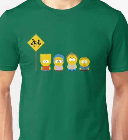 The Simpsons / South Park Unisex T-Shirt
