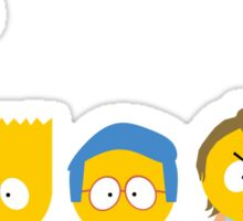 The Simpsons / South Park Sticker