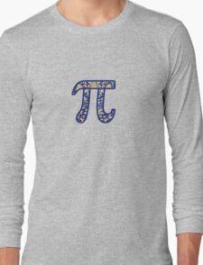 Retro Pi Long Sleeve T-Shirt