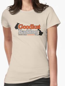 Goodkat & Baddog (Lucky Number Slevin) Womens Fitted T-Shirt