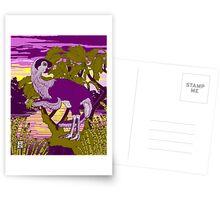 Nemegt Sunrise Greeting Card