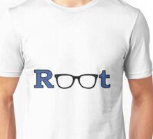 "Root ""Glasses Blue"" Unisex T-Shirt"