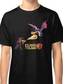 wizard vs dragon Classic T-Shirt