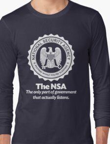 The NSA Long Sleeve T-Shirt