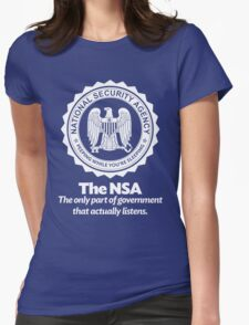 The NSA Womens Fitted T-Shirt