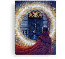 Sherlock Strange Canvas Print