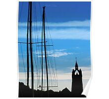 Masts and Towers Poster