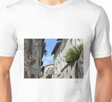 Stone buildings from Assisi, Italy. Unisex T-Shirt