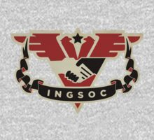 1984 INGSOC Emblem Kids Clothes