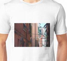 Narrow street in Vernazza, Italy Unisex T-Shirt