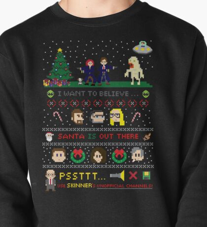 The X-Files Christmas - Santa is Out There Pullover