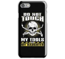 Welder shirt iPhone Case/Skin