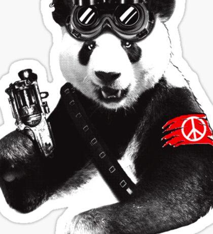 Panda Hero Sticker