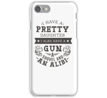 Daughter and Gun iPhone Case/Skin