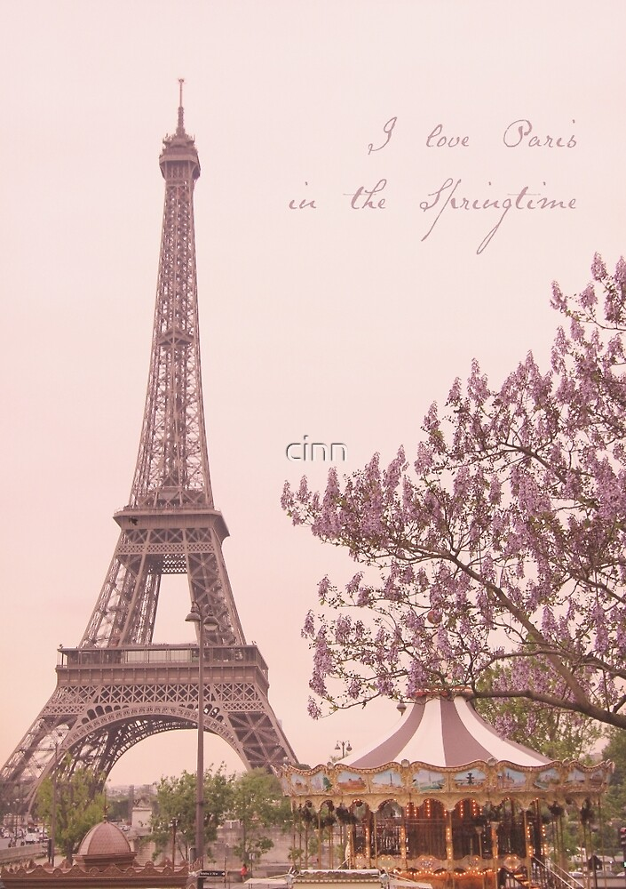 I Love Paris in the Springtime by Heidi Hermes