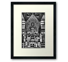 Buddha Statue Framed Print