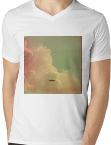 Once Upon a Time a Little Boat Mens V-Neck T-Shirt